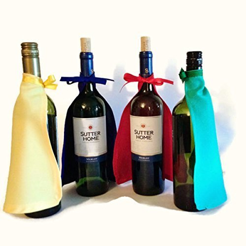 Wine Bottle Super Hero Capes