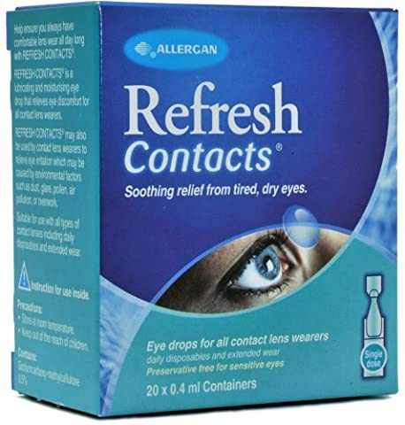 Refresh Contact Eye Drops 20 X 0.4ml by Refresh (Refresh Contacts)