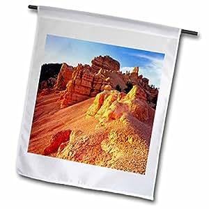 Danita Delimont - Utah - Limestone, slopes, Red Canyon, Dixie NF, Utah - US45 SSM0355 - Scott T. Smith - 18 x 27 inch Garden Flag (fl_94972_2)