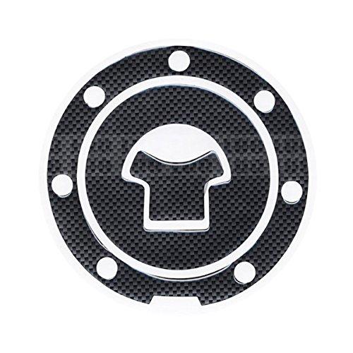 Motorbike Racing Fiber Fuel Gas Cap cover Tank Protector Pad Sticker Decal For Honda CBR 600 F2 / F3 / F4 / F4i / F5
