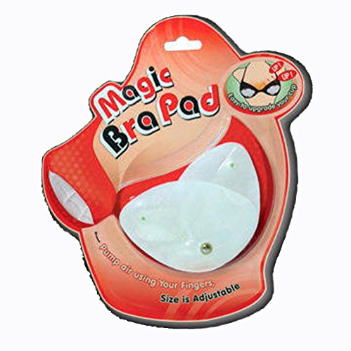 ADJUSTABLE INFLATABLE PUMP IT UP MAGIC BRA INSERTS LIFT SUPPORT PADS
