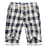 GARQEN Summer Shorts Men Cotton Shorts Casual Shorts - Best Reviews Guide