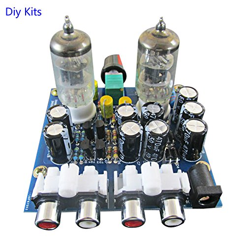 AOSHIKE 6J1 Valve Preamp Buffer DIY Kits Tube Amplifiers Audio Board preamplifier Pre-Amp Amplifier Audio ()