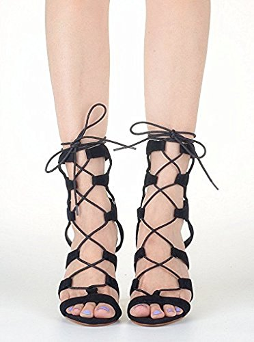 Kolnoo - botas clásicas Mujer negro