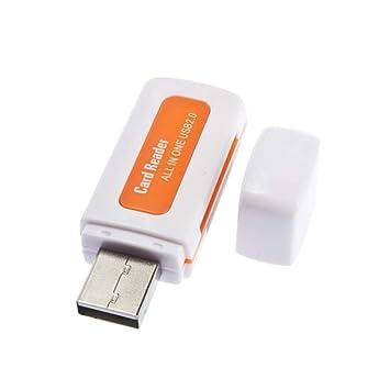 Protable USB 2.0 4 en 1 Lector de Tarjetas de Memoria múltiple ...