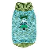 Zack & Zoey Emerald Sweater for Dogs, Small/Medium