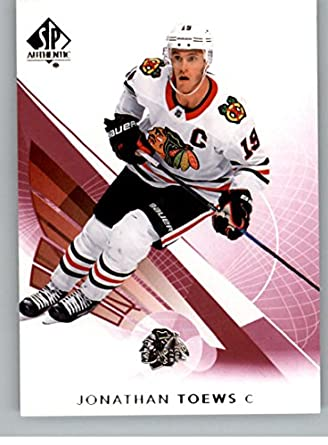 2017-18 SP Authentic Limited Red  50 Jonathan Toews Chicago Blackhawks NHL  Hockey Card a948e4c06