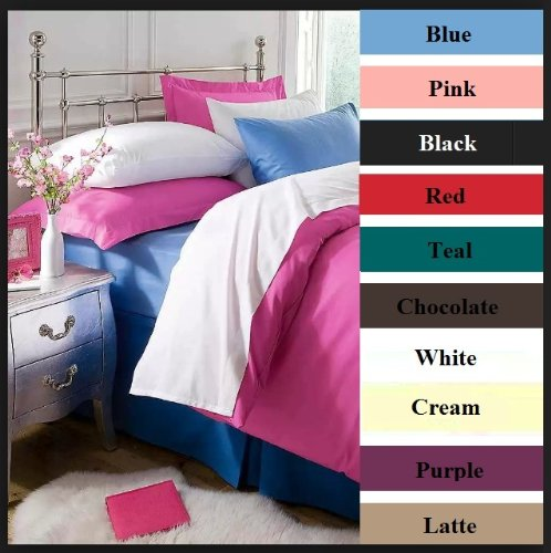 """Extra Deep Thermal Fitted Bed Sheets FLANNELETTE 100/% Brushed COTTON 16/"""" 40cm"""