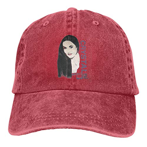 Mei73youguan Mens Woman Unisex Casual Cool Talladega Nights Ricky Bobby Crystal Gayle On Tour Movie Adult Cowboy Sunbonnet Red
