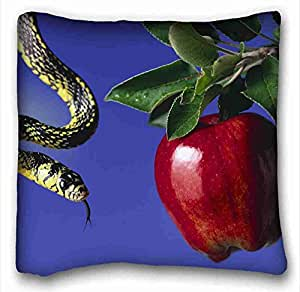 Custom Characteristic Animal Custom Cotton & Polyester Soft Rectangle Pillow Case Cover 16x16 inches (One Side) suitable for Twin-bed