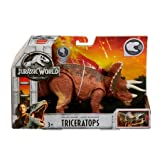 Jurassic World Mattel Roarivores Triceratops Action Figure
