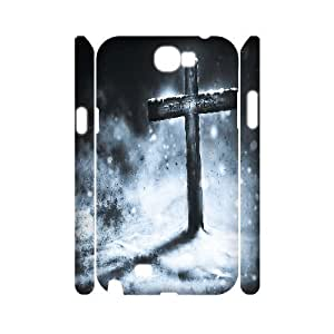 case Of Cross Customized Hard Case For Samsung Galaxy Note 2 N7100