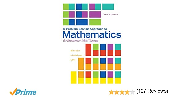 Amazon.com: A Problem Solving Approach to Mathematics for ...