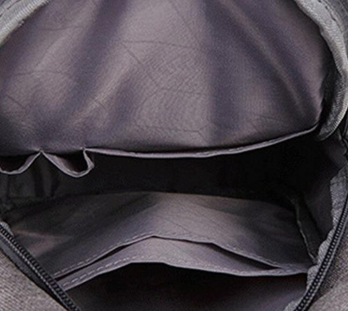 Diagonal Oxford Cloth Shoulder Sports Black Bag Men's Leisure Chest Package dp0qrpXx
