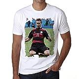 Miroslav Klose Men's T-shirt Celebrity Star ONE IN THE CITY - White, L