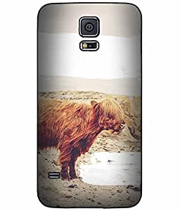 Cute Hairy Dog TPU RUBBER SILICONE Phone Case Back Cover Samsung Galaxy S5 I9600