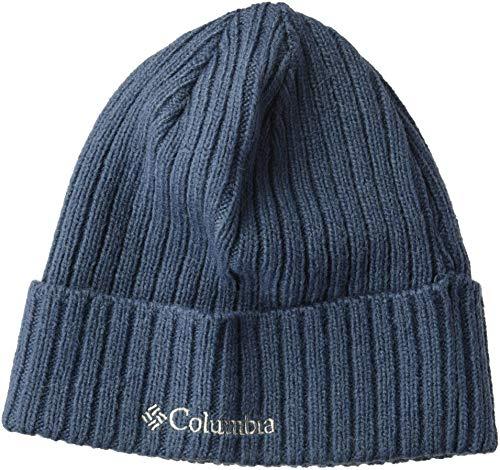 Columbia Wool Hat - Columbia Men's Watch Cap, Dark Mountain, O/S