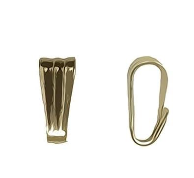 Amazon 14k yellow gold tiny snap on bail pendant jewelry 14k yellow gold tiny snap on bail pendant mozeypictures Images