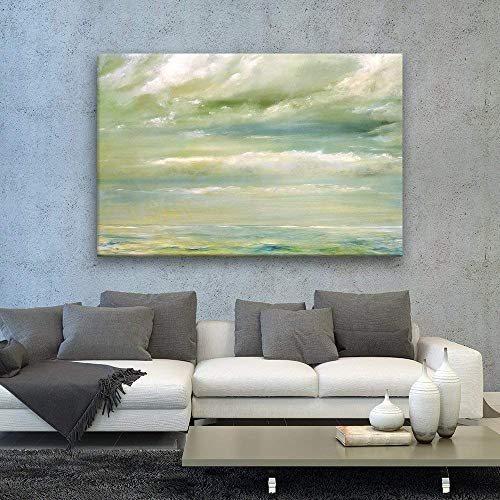 Oil Painting Style Abstract Seascape