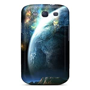 For Galaxy S3 Protector Case Space Phone Cover