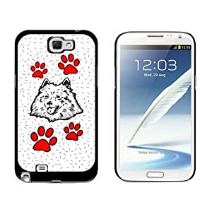 American Eskimo Dog of Distinction Case for Samsung Galaxy Note II 2 Black case for iphone michael korsiphone...