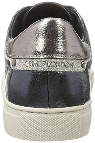 Crime Crime London London Femme Sneakers Blau Basses 25406a17b Bleu 7Fpwq5p