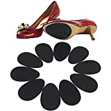 Mosichi 5 Pairs Anti-Slip High Heel Shoes Sole Grip Protector Non-Slip Cushion Pads (Black)