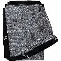 Soclear Aluminet Shade Cloth Fabric Sun Block Sun Reflect - 13 ft x 13 ft