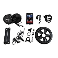 BBS02 48V 750W 8fun Bafang Mid-Drive Motor Ebike bicycle Kit BB:68mm with Colour Display