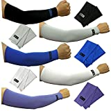 5pairs Arm Sleeves Set Cooling Athletic Sport Skins Sun Protective UV Cover VT