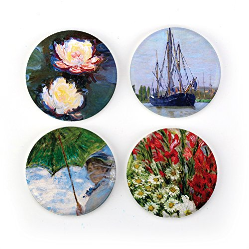 Buttonsmith Claude Monet Impressionist Art 1.25