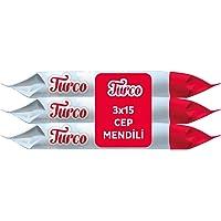 Baby Turco Cep Mendili 3'Lü Paket, 45 Yaprak