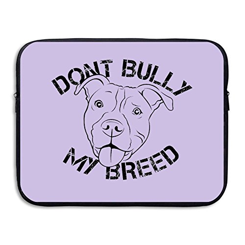 Anyiquliq Don't Bully My Breed 13&15 Inch Large Capacity Fashionable Computer Bladder Bag Laptop - Eyeglasses Near Fix Me