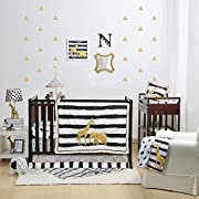 Safari 4 Piece Baby Crib Bedding Set by The Peanut Shell
