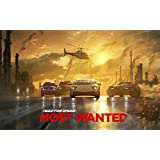 002 Need for Speed Most Wanted 2 38x24 inch Silk Poster Aka Wallpaper Wall Decor By NeuHorris