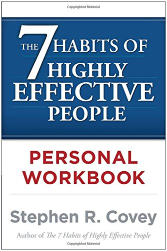 Pdf Self-Help The 7 Habits of Highly Effective People Personal Workbook