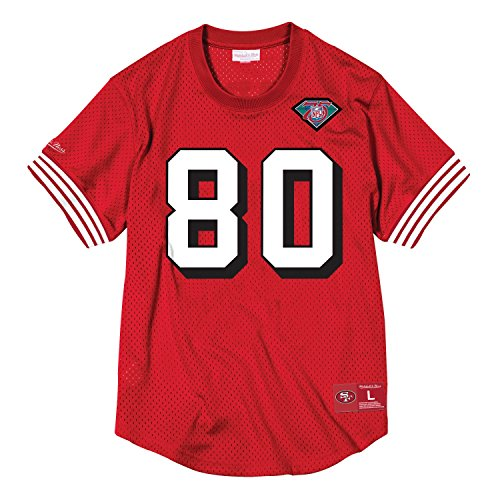 Mitchell & Ness Jerry Rice San Francisco 49ers NFL Men's Mesh Player Shirt