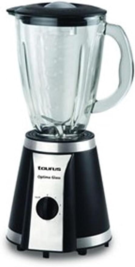 Taurus Optima Glass BATIDORA DE VASO, 550 W, 0 Decibelios, Vidrio ...