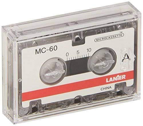 Lanier MC-60 Microcassette Recording Tapes Box of 5 Sealed ()