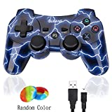 ps3 sixaxis controller - PS3 Controller Wireless Dualshock3 - OUBANG Upgrade Version Best PS3 Games Remote Bluetooth Sixaxis Control Gamepad Heavy-Duty Game Accessories for PlayStation3,with PS3 Charger