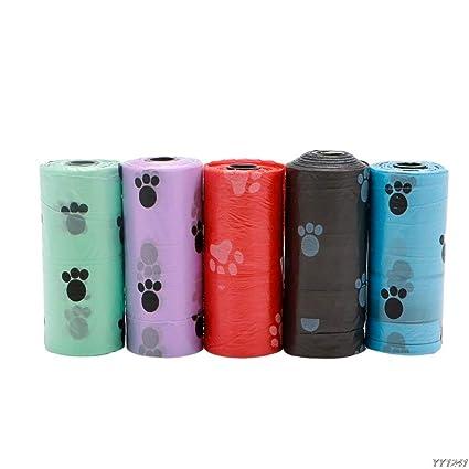 Amazon.com: Bolsas degradables – Multicolor 1 rollo 15 ...