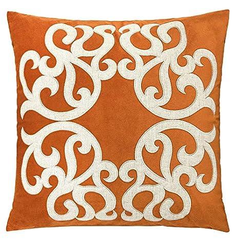 Amazon Com Homey Cozy Spice Throw Pillow Cover Large Premium