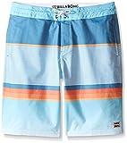 Billabong Boys' Little Lo Tide Stretch Boardshorts, Ice, 6L
