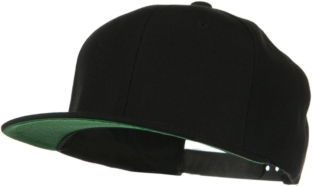 Sonette/Yupoong Wool Blend Prostyle Snapback Cap - Black at  Men's Clothing store: Baseball Caps