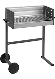 DANCOOK 7400 - Barbacoa con parrilla, 62x25 cm, cocción horizontal y vertical (parrilla