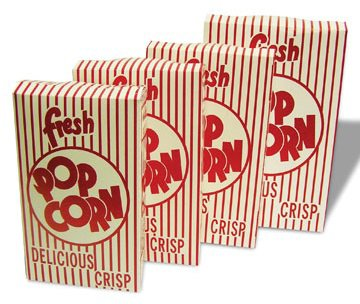 Closed Top Popcorn Boxes - Benchmark USA Closed Top Popcorn Boxes Model Number 41574