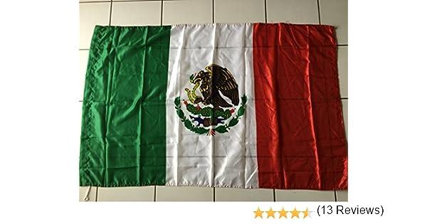 Bandera mexicanos, México, 150 x 90 cm, tejido 100% poliéster ...