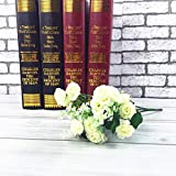 Flowers For - 5 Colors Artificial Silk Rose Flowers Bouquet Foam Diy Home Decor Valentine 39 S Day Fake - Bride Nursery Projects Stay White Style Fake Accessories Sympathy Tree