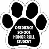 Imagine This Paw Car Magnet, Obedience School Honor Roll, 5-1/2-Inch by 5-1/2-Inch Review