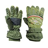 Sports Outdoors Kids Best Deals - Boys Kids Toggle Windproof Waterproof Thermal Warm Padded Gloves 4-10 Years Children Outdoor Sports Gloves Cycling/Biking/Snowing/Skiing Gloves